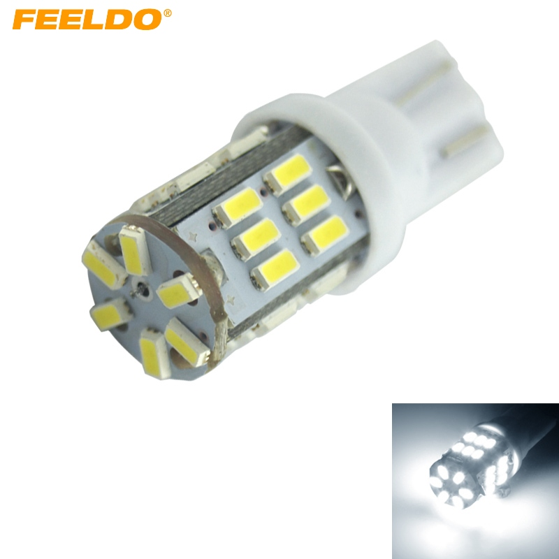 1Pc Super White 3W <font><b>T10</b></font> W5W <font><b>3014</b></font> Chip <font><b>30SMD</b></font> Canbus No-Error Car Clearance Lamp/Reading LED Light #FD-4196 image