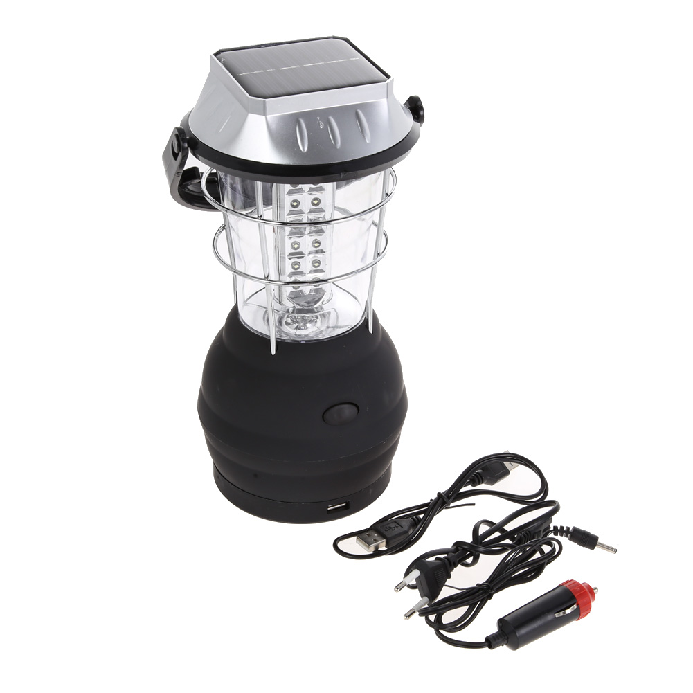 Led lantern Hand Crank 3 Modes Solar 36 LED Super Bright Lantern Outdoor Light Sport Camping Hiking