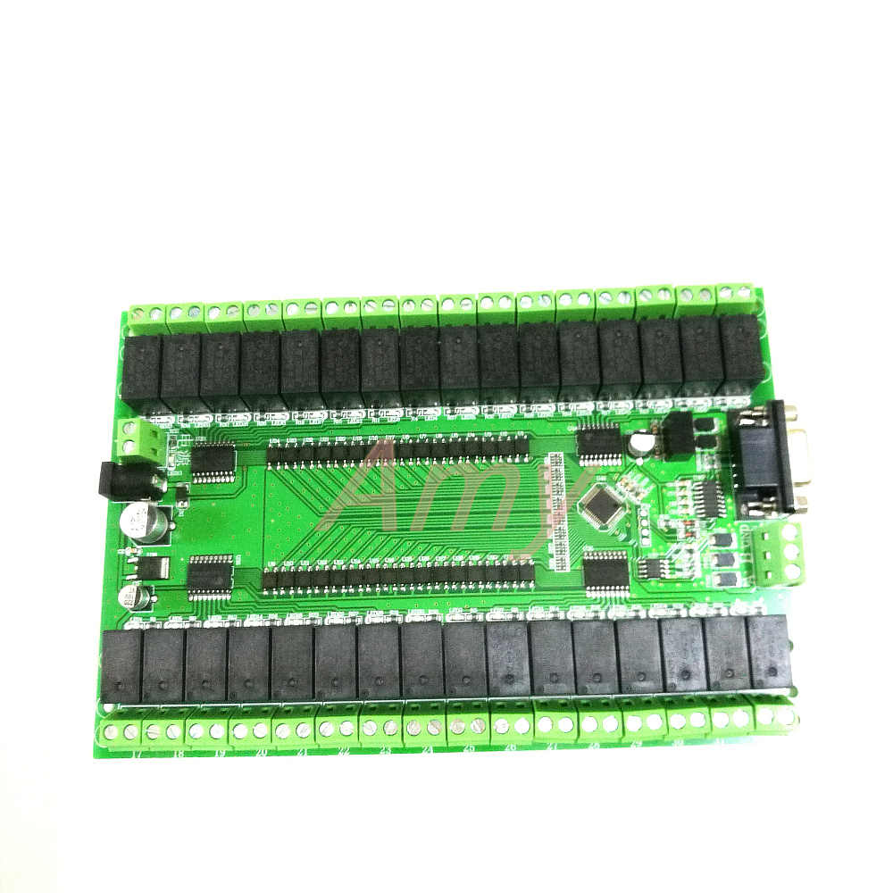 Free shipping RS232/RS485 serial port control 32 relay module control switch board IO board