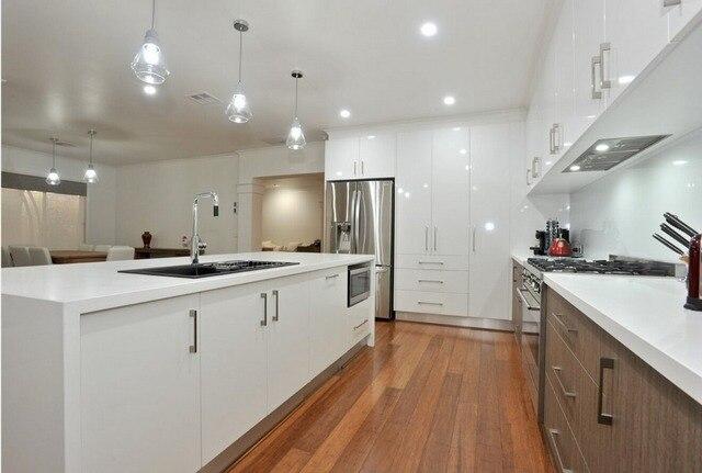 2017 heiße verkäufe küchenschränke weiße farbe moderne hochglanz ...