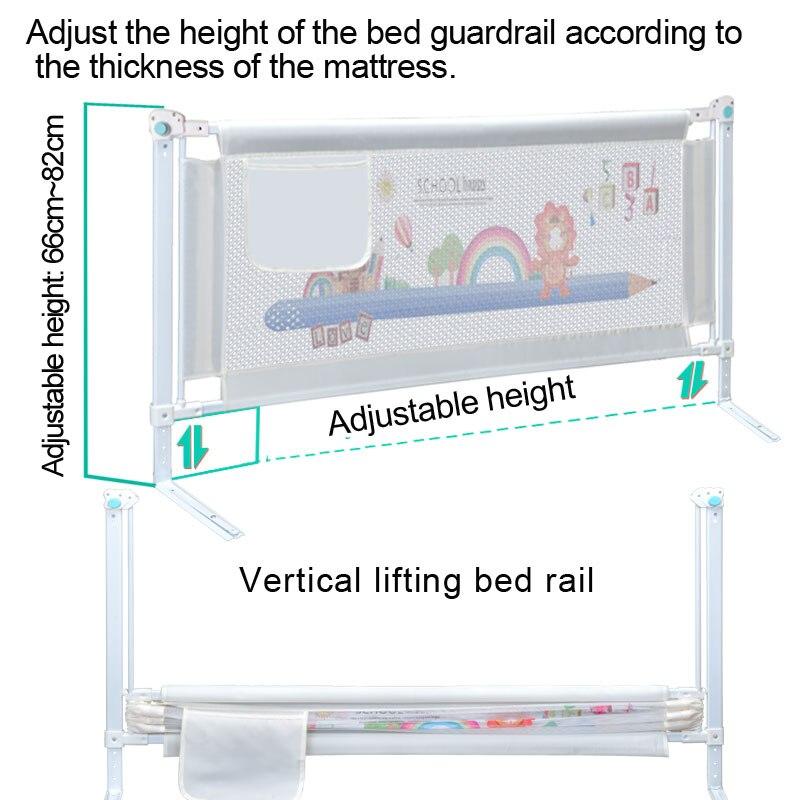 Barrière de lit de bébé maison enfants parc porte de sécurité produits barrière de garde d'enfants pour lits Rails de berceau clôture de sécurité garde-corps d'enfants - 3