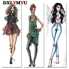 Diy Diamond Painting Cartoon Girl Pictures Cross Stitch Kits Full Square Diamond Embroidery Decor For Room Mosaic Making
