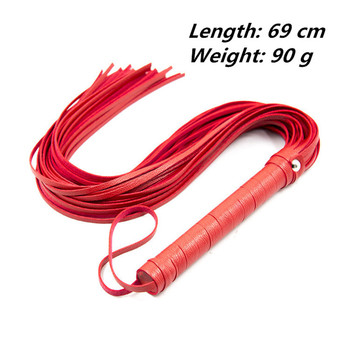 69cm Faux Leather Whip Sex Toys for Couples Sex Spanking Flogger Fetish SM Bdsm Bondage Restraints Sex Product For Adults 5
