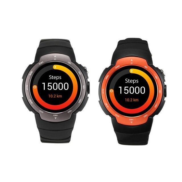 Zeblaze MTK6580 Блиц ОС Android 5.1 Смарт-часы 360x360 SmartWatch поддержка 3 г SIM Wi-Fi Bluetooth сердечного ритма PK kw88 D5 X5 i2