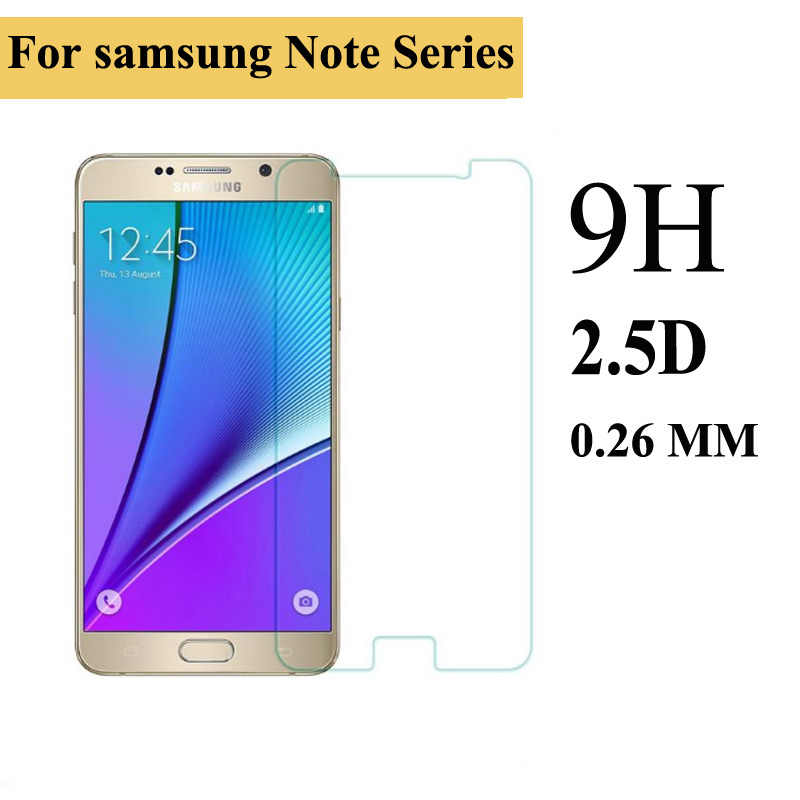 Premium Tempered Glass Screen Film 100 PCS for Galaxy Note Edge N9150 0.26mm 9H Surface Hardness 2.5D Explosion-Proof Non-Full Tempered Glass Screen Film Anti-Scratch Screen Protector
