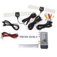 ערוץ נייד מיני הטלוויזיה DVB-T תיבת הטלוויזיה דיגיטלית לרכב שונים מקלט אנלוגי אות חזק במהירות גבוהה 240 קמ