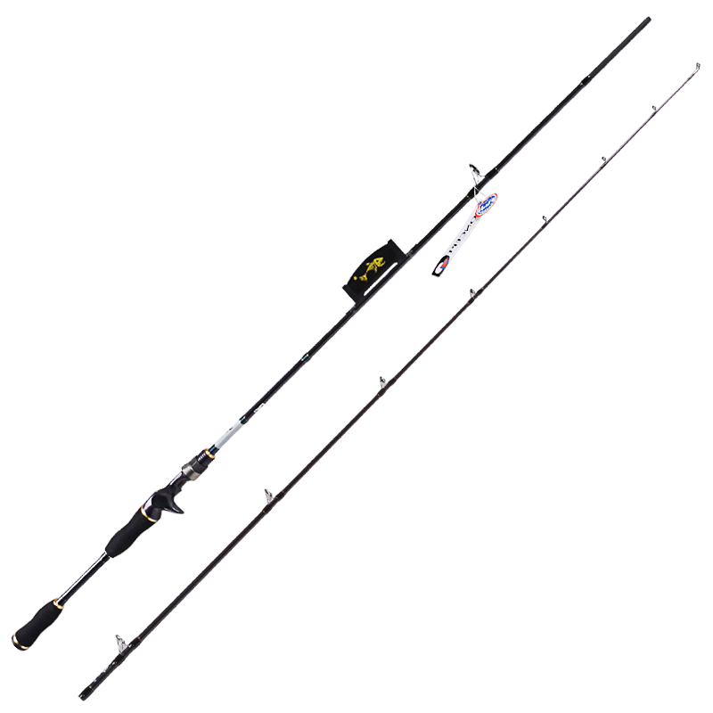 Carbon Baitcasting Fishing Rod 2Section 1.8m Power:M IM8 Carbon99% Lure Rods Vara De Pesca Carp Olta Stick Fishing Tackle купить