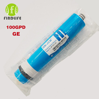 100 GPD Dry GE RO Membrane For Housing Residential Water Filter Purifier Treament Reverse Osmosis System