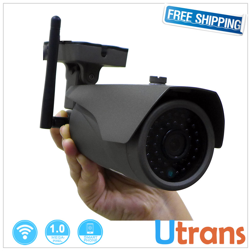 ФОТО IP Camera Wifi Wireless 1280*720P P2P 1.0MP HD Outdoor 3.6mm Lens 25m Night Vision Alarm Wireless IP Cams IP Wifi Camera Onvif