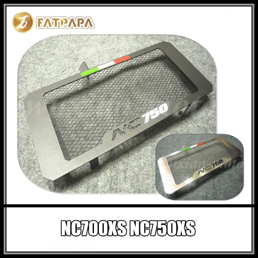 Livraison gratuite accessoires moto protection du réservoir de radiateur adapté pour Honda NC700 NC750 X S réseau de réservoir d'eau