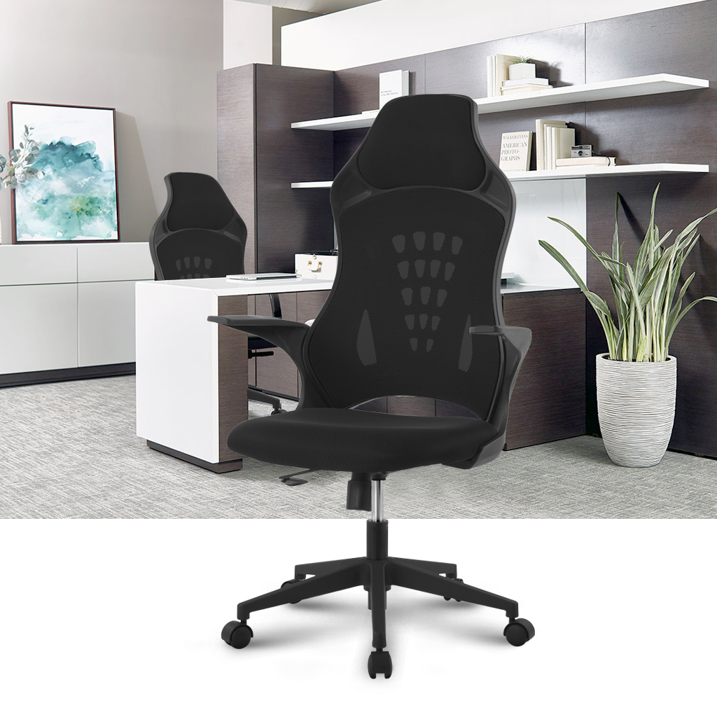 Strange Us 79 99 Langria Ergonomic High Back Mesh Office Chair Executive Chair Gaming Chair 360 Degree Swivel Desk Chair With Knee Tilt In Office Chairs Andrewgaddart Wooden Chair Designs For Living Room Andrewgaddartcom