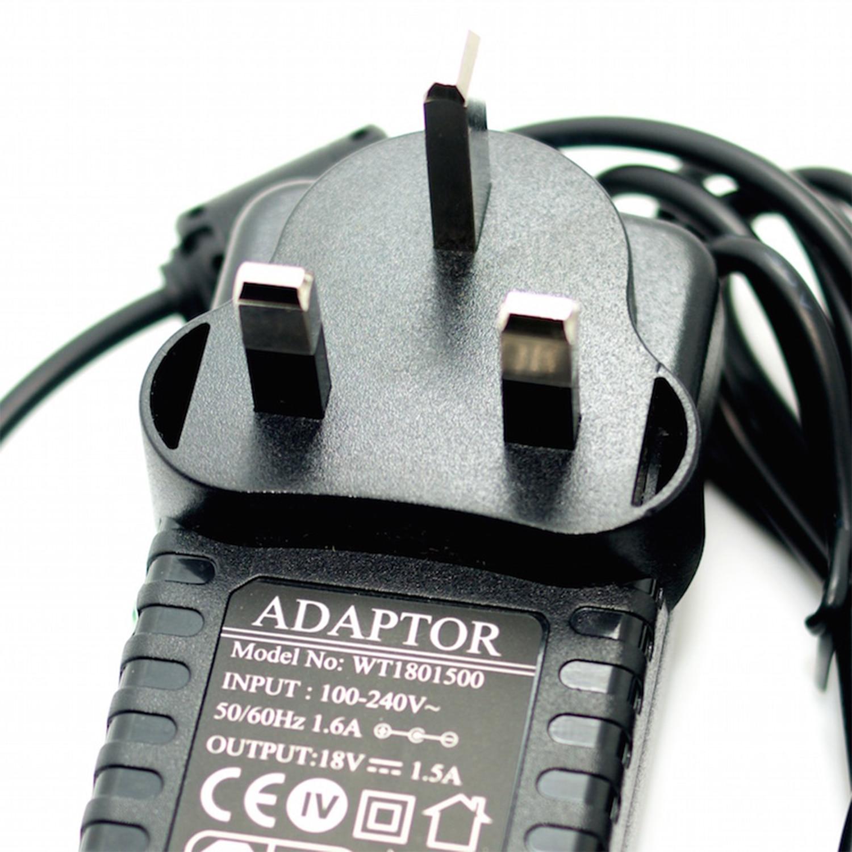 18V 1.5A Power Adapter Negative Center 100-240V Converter UK Plug G Type Noiseless 1500mA Power Supply For Guitar Effect Pedal autoeye cctv camera power adapter dc12v 1a 2a 3a 5a ahd camera power supply eu us uk au plug