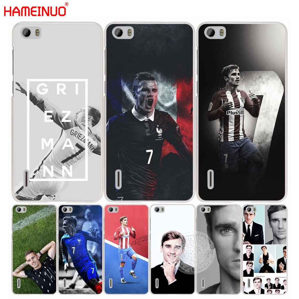 HAMEINUO Antoine Griezmann Soccer Star cell phone Cover Case for huawei honor 3C 4A 4X 4C 5X 6 7 8 Y3 Y5 Y6 2 II Y560 Y7 2017