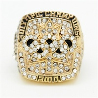 Daihe Fashion Sport Jewelry Great Jacques Lemaire S 2010 Olympics Canada Gold Ring Replica Championship Ring
