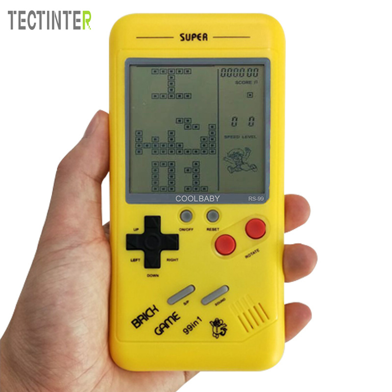 CoolBaby Handheld Game Console Build-in 26 classic games Classic Tetris Games Mini Game Player Gift For Kids
