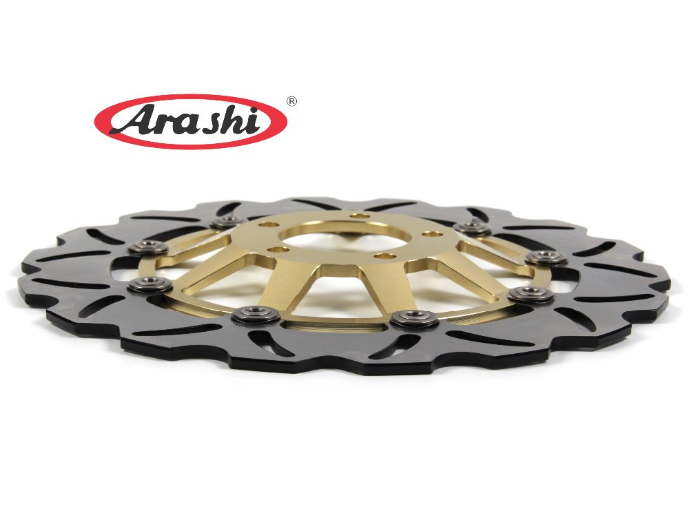 Arashi 1PCS GS500E 1996-2003 CNC Front Brake Disc Brake Rotors For SUZUKI GS E 500 1996 1997 1998 1999 2000 2001 2002 2003 2x front brake rotors disc braking disk for moto guzzi breva griso 850 2006 california 1100 ev 1996 2000 griso 1200 8v 2007 2011
