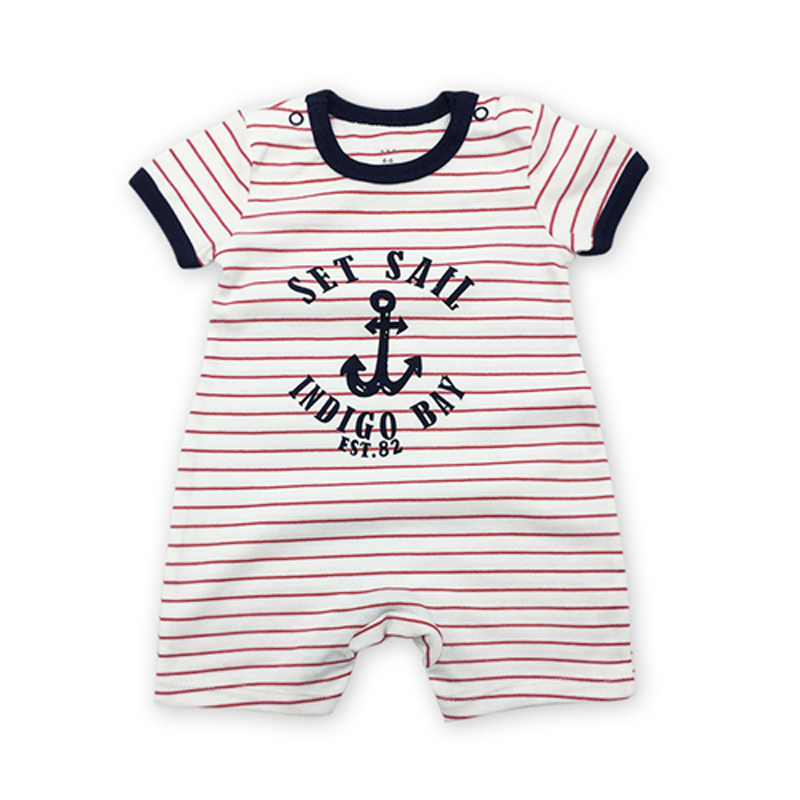 Toddler Infant Newborn Baby Boy   Romper   Jumpsuit Casual Clothes Outfits Cotton Short Sleeve Playsuit Summer Sunsuit