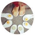 2016 летом новая мода оригинальные ботинки Женщин яичный омлет лимон прозрачный желе обувь сандалии Женщин сандалии