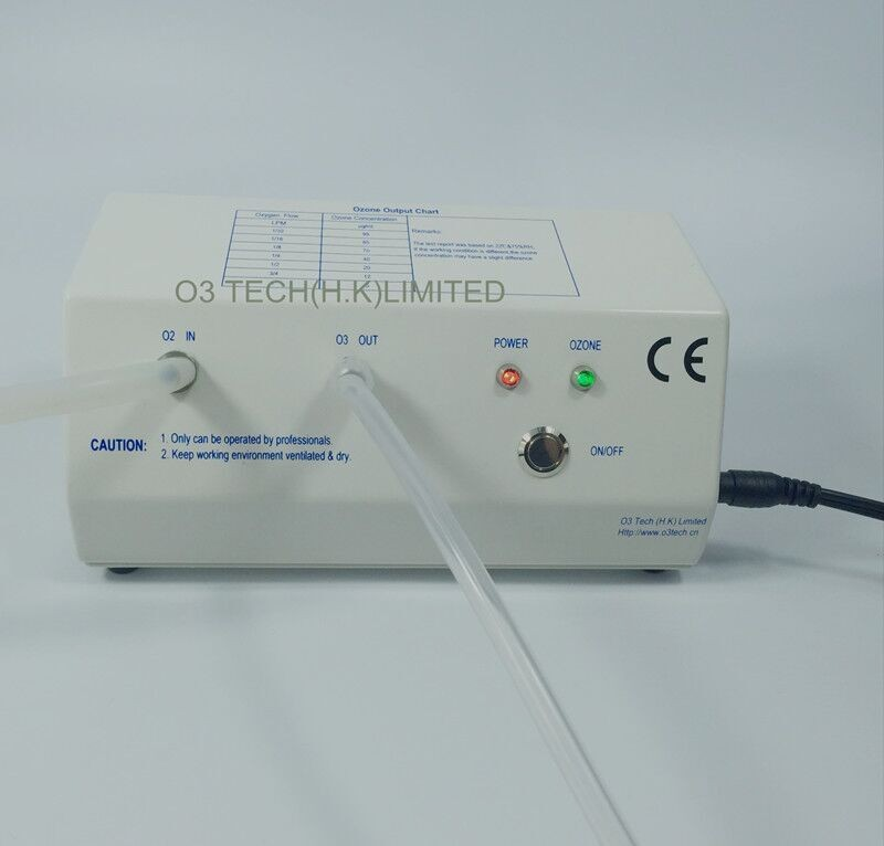 5 99 ug ml medical ozone generator 12VDC for diabetic foot dentistry blood