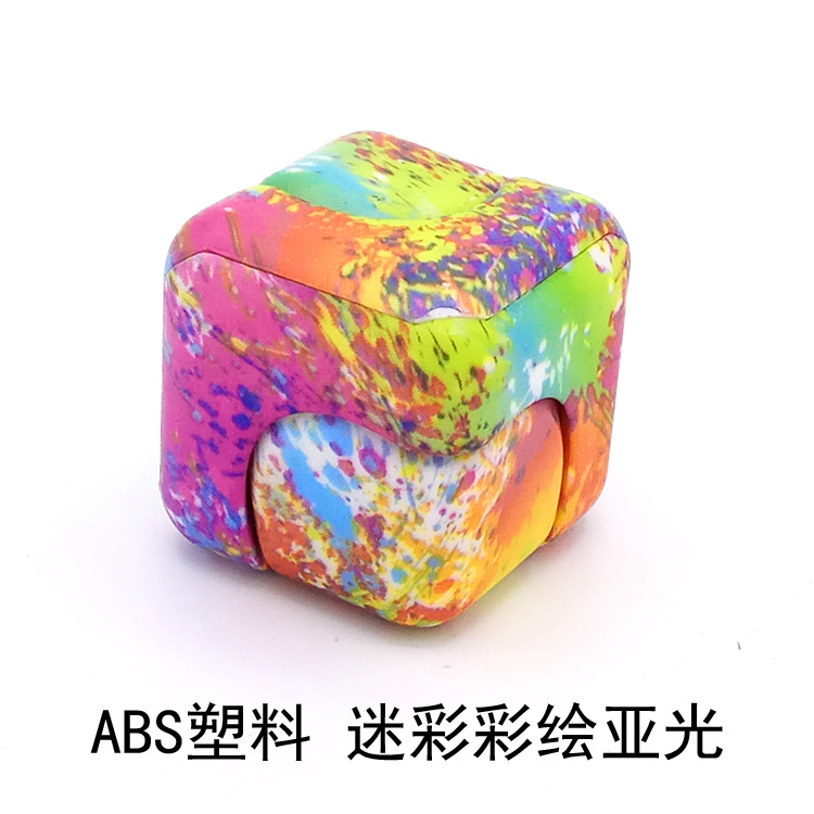 Explosive Money, Colorful Painting, Rotary Decompression, Square Fingertips, Gyro Dice, Hot Spot Sale.