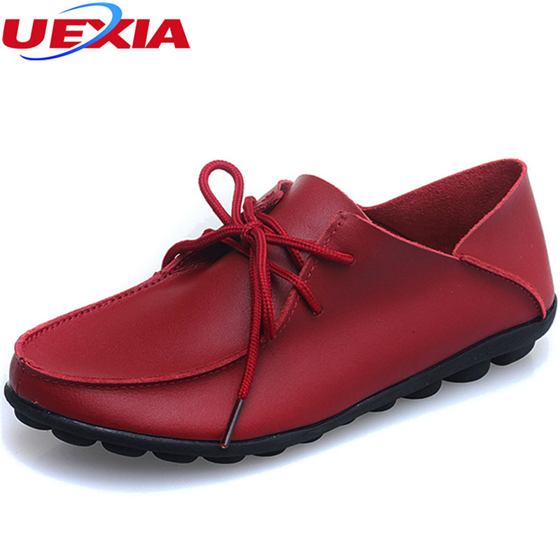 PU Leather Women Shoes Flats Flexible Round Toe Nurse Casual Driving Fashion Flexible Nurse Peas Loafer Flats Appliques Moccasin
