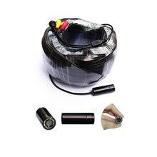 80 м кабель 90deg подводная Инспекционная камера с отличным ночным видением для рыбалки/дымохода/канализации