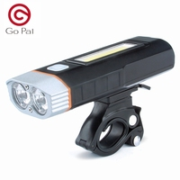 USB Rechargeable Bicycle Light Include Lithium Battery Bike Front Light LED Head Light Waterproof Bike Light