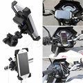 MTB Moto de la motocicleta Del Montaje Del Manillar Soporte Para Teléfono Móvil Con cargador USB