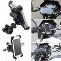 Motorcycle MTB Motorbike Handlebar Mount Mobile Phone Holder With USB charger
