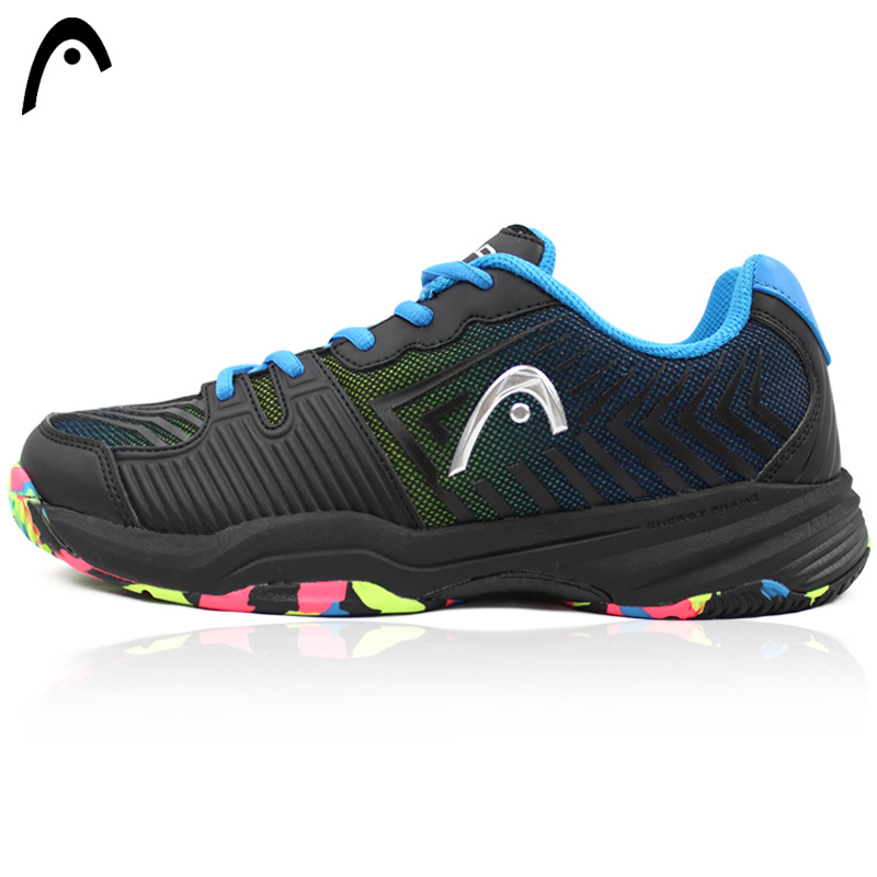 HEAD Men Tennis Shoes Brand Sport Sneakers Shock Absorbant Man's Training Tennis Shoes Zapatos Hombre Shoes For Professional high quality black boxing shoes men women training shoes sport sneakers professional martial art mma grappling boxing shoes