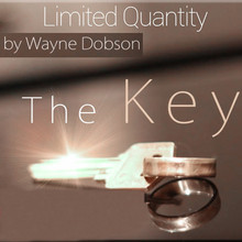 The Key (Gimmicks and Online Instructions) -Silver,Close up Magic Tricks,Illusions,Street magic,Fun,magia Toys,Gadget,Joke