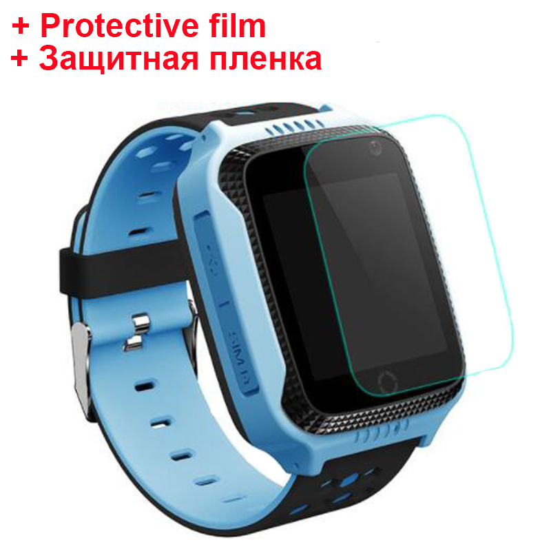 2018 Original Q528 Y21 with Protective film Kid GPS Smart Watch With Flashlight Baby Watch SOS Call Location Device Tracker Safe