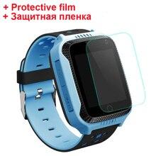 Детские смарт часы Q528 Y21 с защитной пленкой, 100% оригинальные детские смарт часы с фонариком, GPS, детские часы с экстренными вызовами, определением местоположения, трекер для безопасности