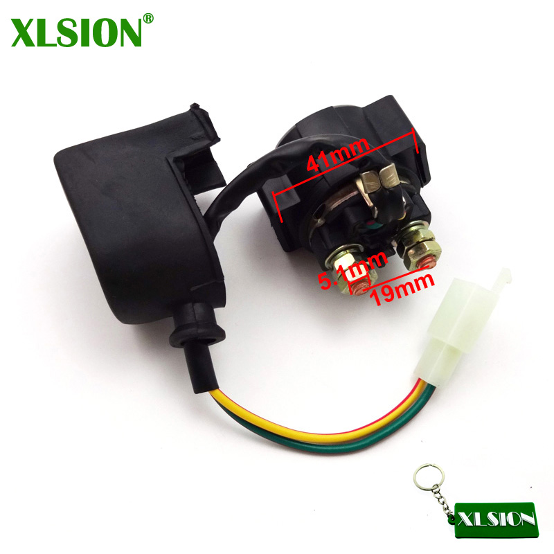 12v Starter Solenoid Relay For Atv Go Kart Pit Dirt Bike Quad 90cc 110cc 125cc Quality And Quantity Assured Atv,rv,boat & Other Vehicle