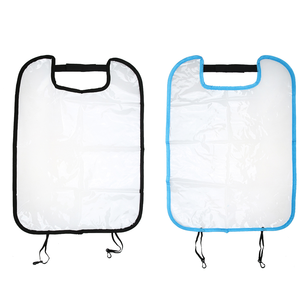 Children Auto Car Back Seat Protector, Kid Kicking Mat Clear Cover Case Waterproof Car Seat Back Cover for Kids Infant ME3L new arrival car auto care seat back protector case cover for children baby kick mat mud clean plastic transparent anti kick pad