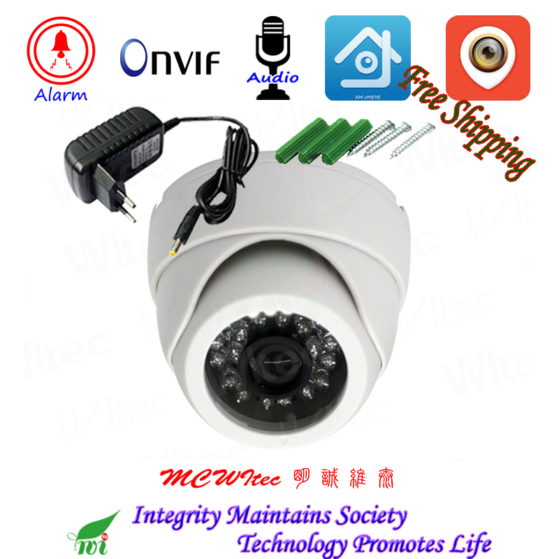 HD 1080P Indoor IP Camera Security ONVIF IR Cut Night image IP Cam Motion Alarm RTSP