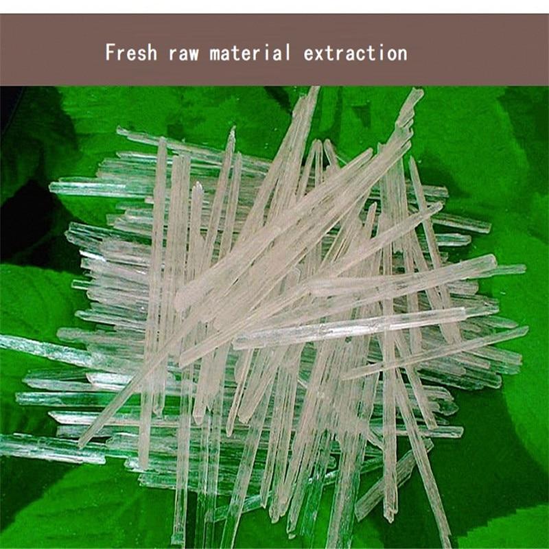 300g/bag Medical Food Pure Natural 99.9% Menthol Menthanol Solid Spice Clearing Heat Detoxification Seasoning Grade Additives стоимость