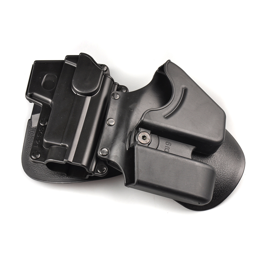 Tactical CU9 Black Handcuff Holster Pistol Holster Double Stack - Jacht - Foto 3