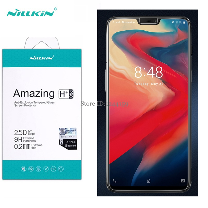 2.5D for Oneplus 6 screen protector Nillkin Amazing H&H+PRO Tempered Glass For One plus 6 Phone Screen Protector2.5D for Oneplus 6 screen protector Nillkin Amazing H&H+PRO Tempered Glass For One plus 6 Phone Screen Protector