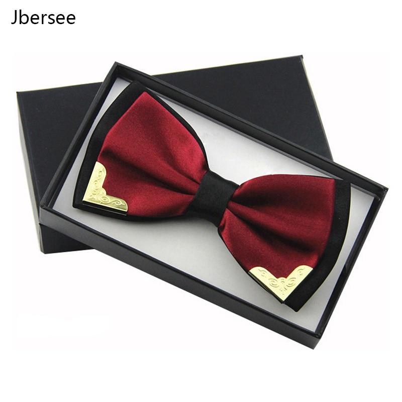 Luxury Boutique Bow Ties For Men Women White Shirt Butterfly Black Red Bow Tie Men Wedding Necktie Blue Bowtie Gravata Cravatta