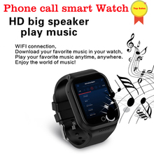 new smart watches 1GB+16GB ROM 1.54 HD IPS screen Heart Rate Phone Smart Watch GPS WIFI 3G Watch-Phone MTK6580 Android 5.1 MP4 цена