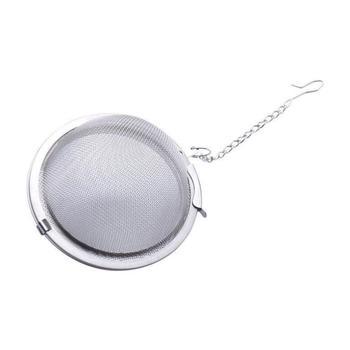 Stainless Steel tea infuser 4.5cm Tea Pot Infusers Sphere Mesh Tea Strainer Ball LX7306