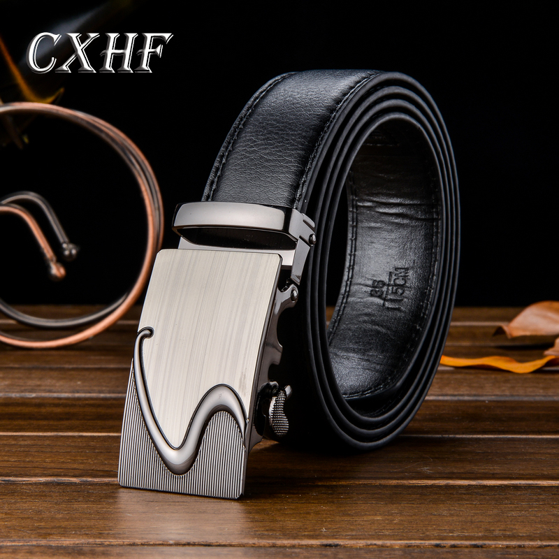 Mens Belts Designer Luxury Man Leather waistband 2017 Fashion Genuine Cowskin Strap High Quality Male automatic Buckle belts