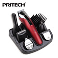 PRITECH Professional Hair Trimmer 6 In 1 Hair Clipper  Shaver Sets Electric Shaver Beard Trimmer Hair Cutting Machine