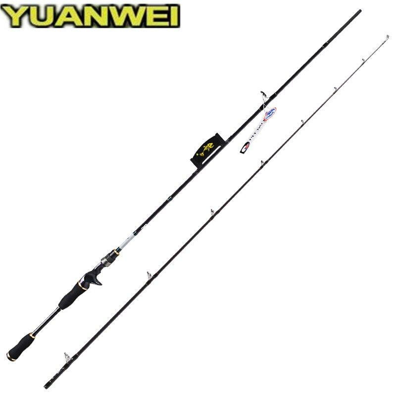 Yuanwei 1 8m 2 1m 2 4m Casting Fishing Rod 99 Carbon ML M MH Casting