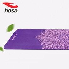 hosa 180cm 10mm nbr yoga mat widened sports pilates mat nonslip gymnastics mat