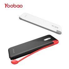 Yoobao S5K 5000mAh Built-in Cable Power Bank External Batter