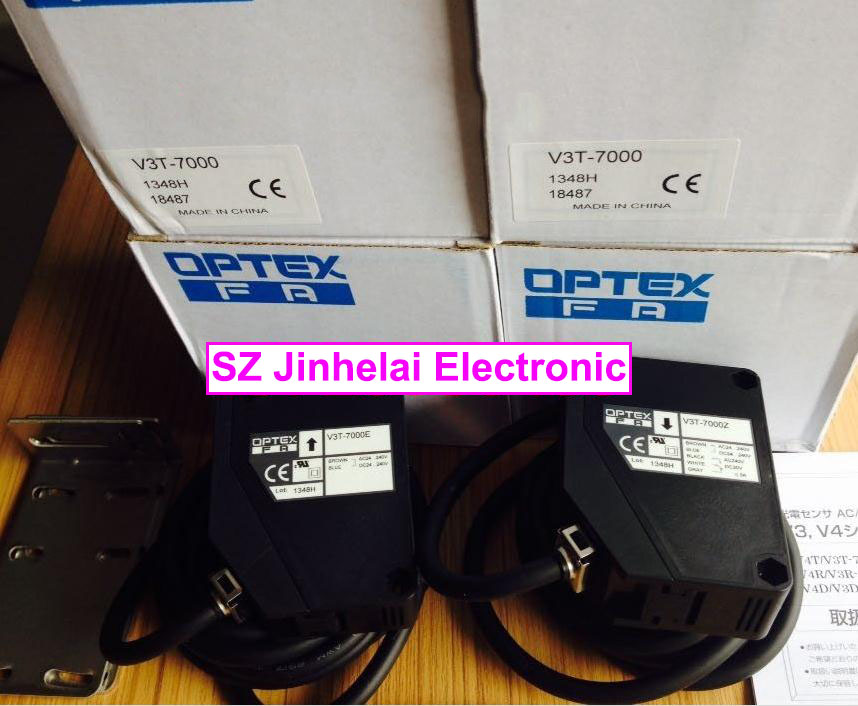New and original V3T-7000  OPTEX PHOTOELECTRIC SWITCH  Photoelectric sensor e3x da21 s photoelectric switch