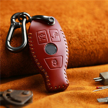 Сандалии из натуральной кожи, сделанные вручную ключ дистанционного управления брендированный флип-чехол из кожи для
