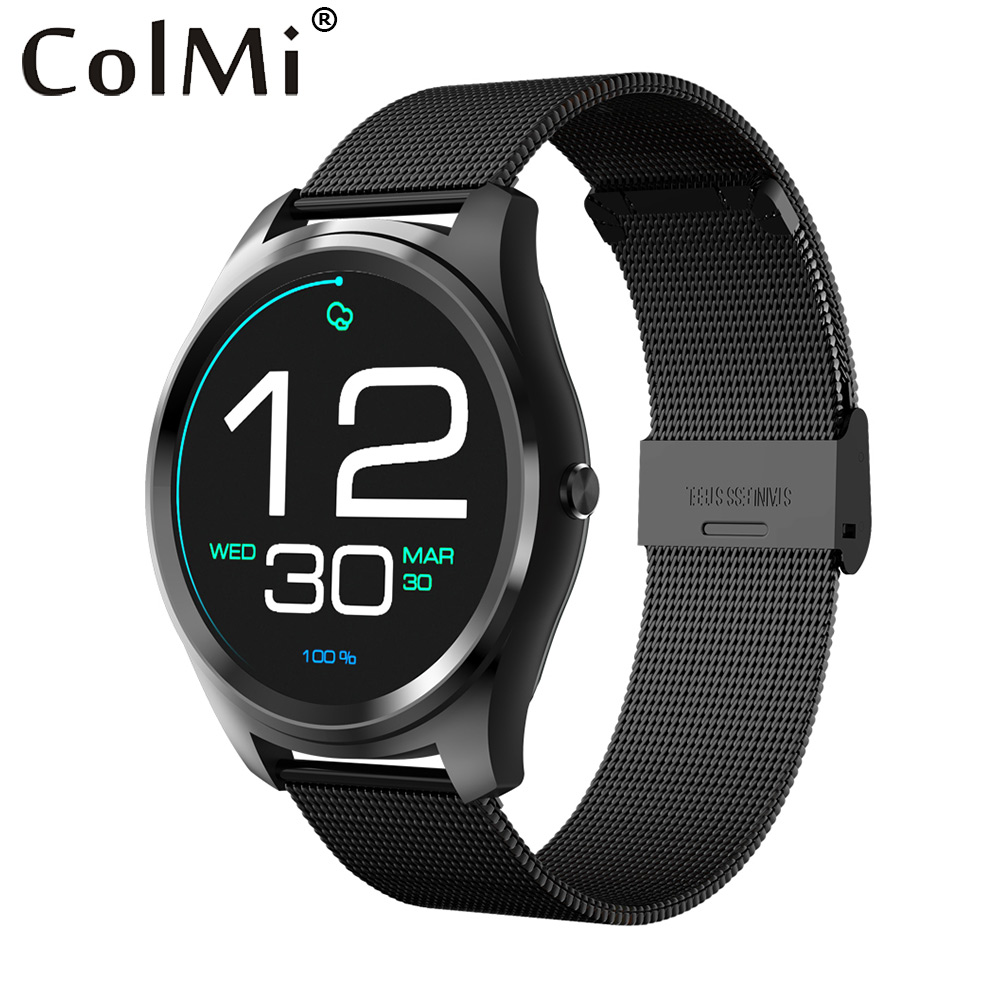 ColMi Z4 Smart Watch Heart Rate Monitor Watch Pedometer SMS WhatsApp Notification Smartwatch for iPhone Android phone i3 android 5 1 smart watch for android phone sync sms pedometer heart rate monitor wifi gps smartwatch silicone sport wristband